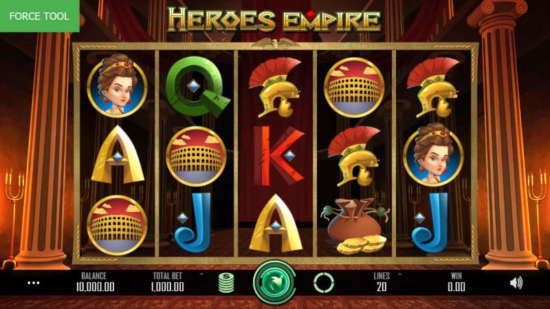 Heroes Empire :: Main Game Board
