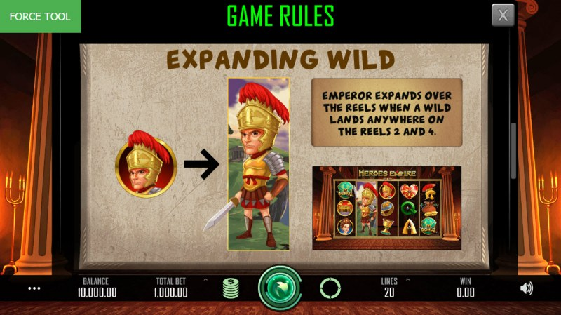 Heroes Empire :: Expanding Wild Rules