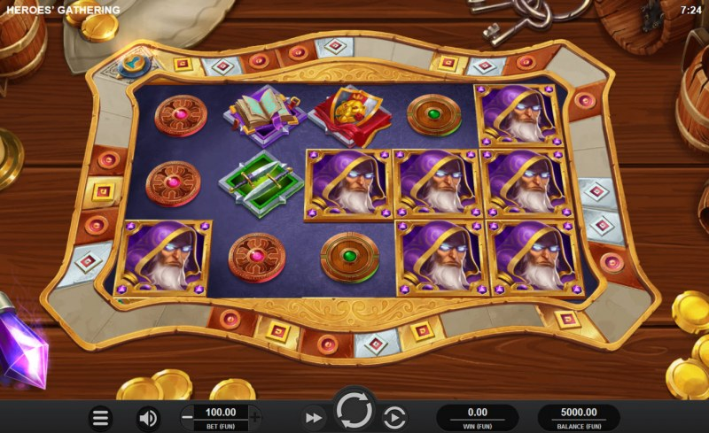 Heroes' Gathering :: Main Game Board