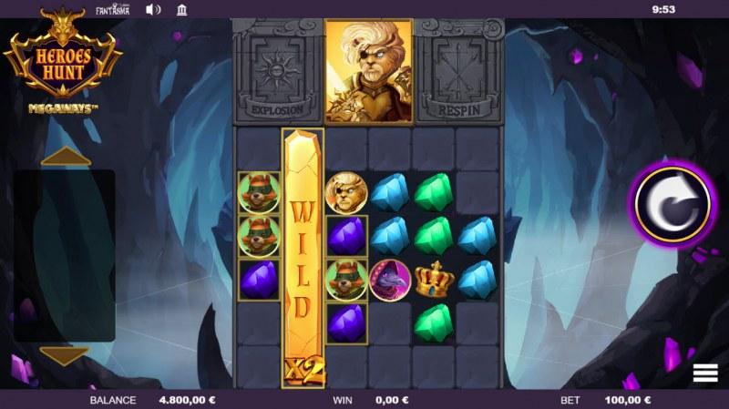 Heroes Hunt Megaways :: Multiple winning combinations
