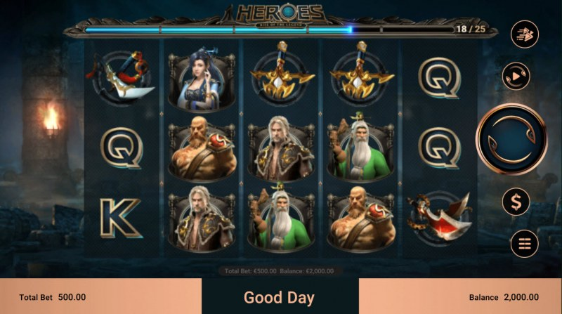 Heroes Rise of the Legend :: Main Game Board