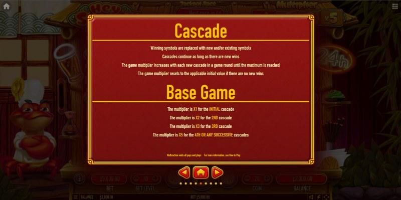 Hey Sushi :: Cascading Feature