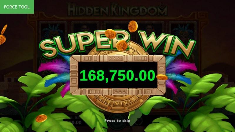 Hidden Kingdom :: Super Win