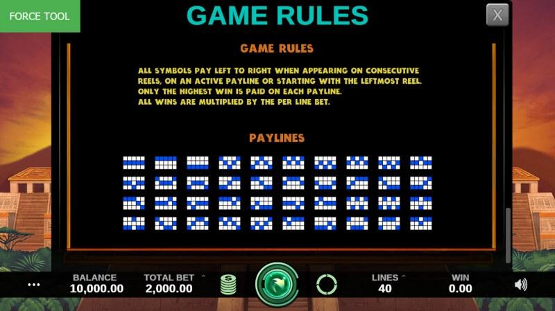 Hidden Kingdom :: General Game Rules
