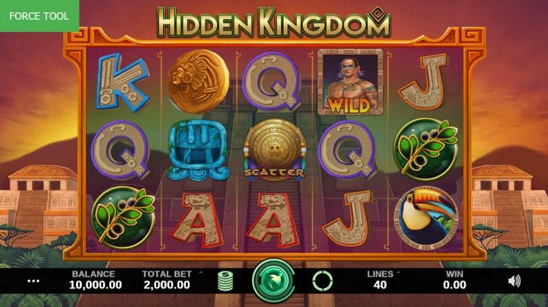 Hidden Kingdom :: Main Game Board