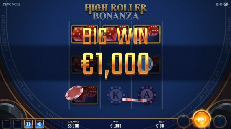 High Roller Bonanza :: Big Win
