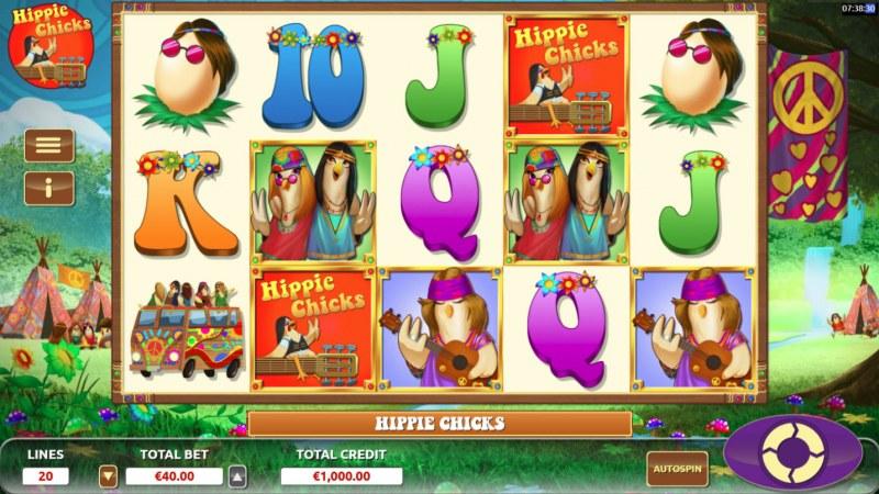 Hippie Chicks :: Main Game Board