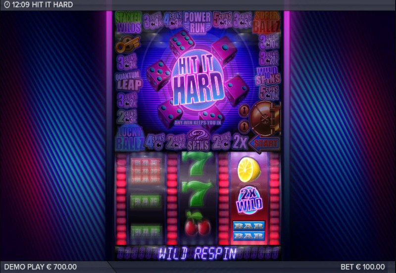 Hit It Hard :: Respin awarded
