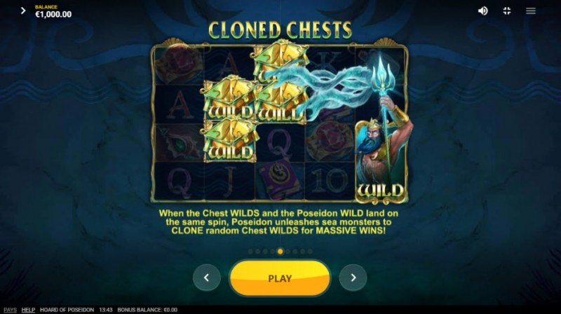 Hoard of Poseidon :: Cloned Chests