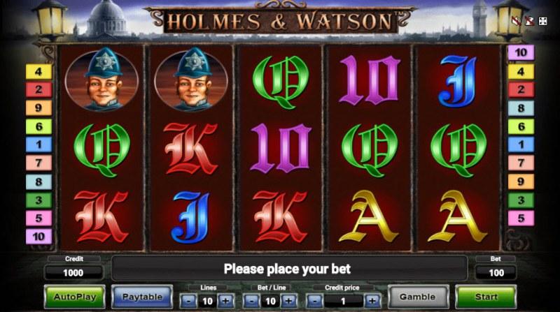 Holmes & Watson :: Main Game Board