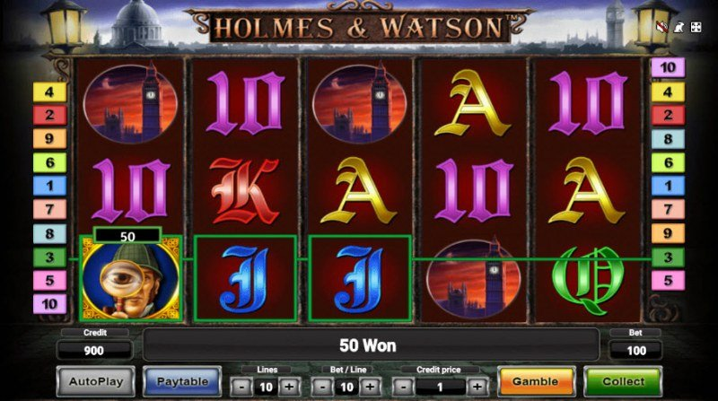 Holmes & Watson :: Three of a kind win