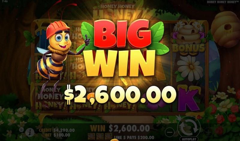 Honey Honey Honey :: Big Win
