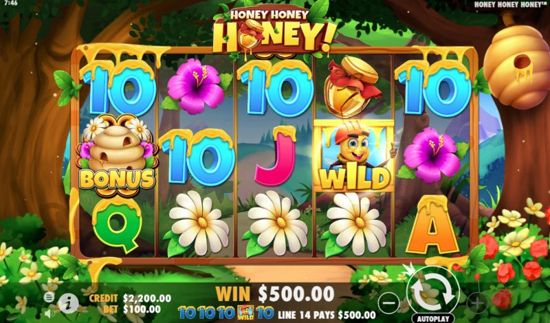 Honey Honey Honey :: Five of a kind