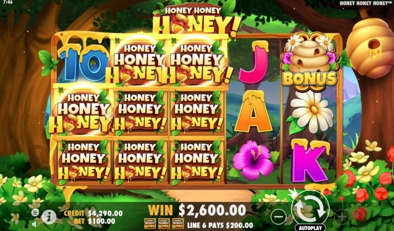 Play slots at Karamba: Karamba featuring the Video Slots Honey Honey Honey with a maximum payout of $40,000