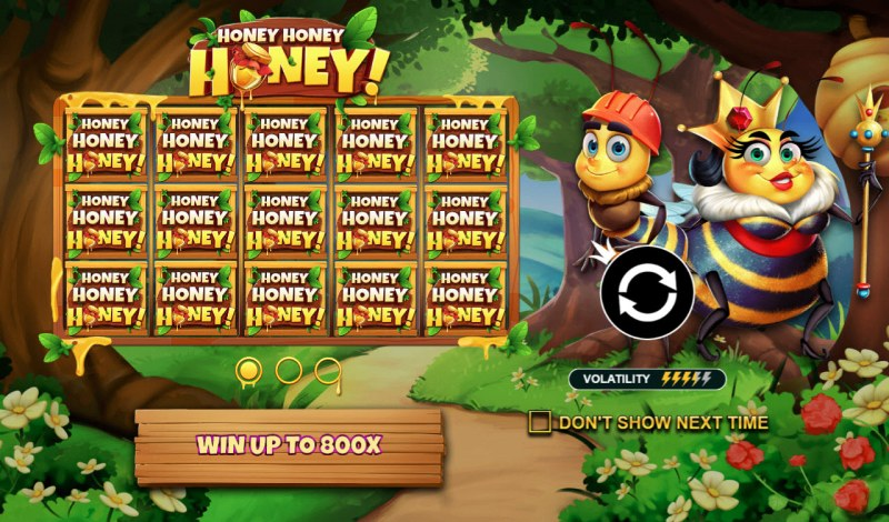 Play slots at Cobra: Cobra featuring the Video Slots Honey Honey Honey with a maximum payout of $40,000