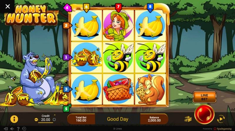 Honey Hunter :: Main Game Board