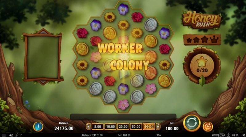 Honey Rush :: Woker Colony Activated