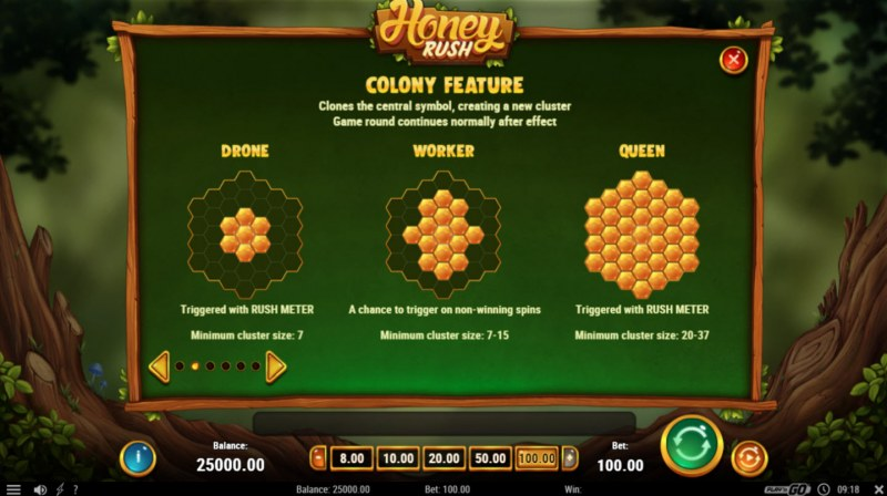 Honey Rush :: Colony Feature