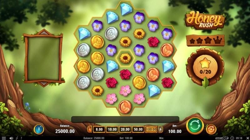 Honey Rush :: Main Game Board