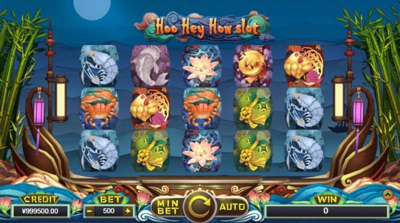 Hoo Hey How Slot :: Main Game Board