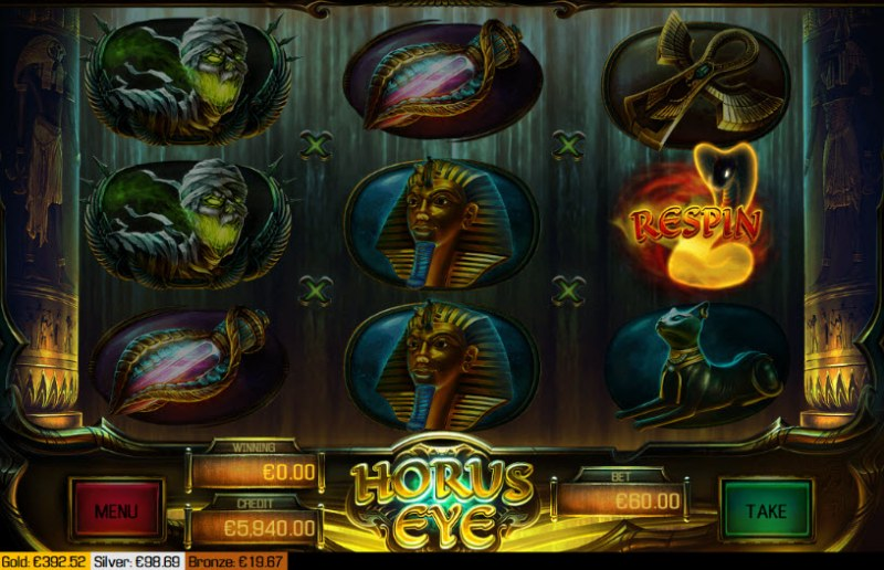 Horus Eye :: Respin triggered