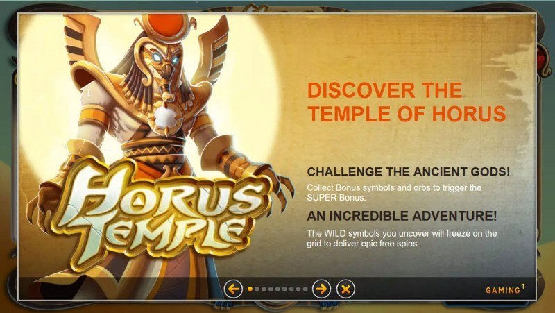 Horus Temple :: Feature Rules