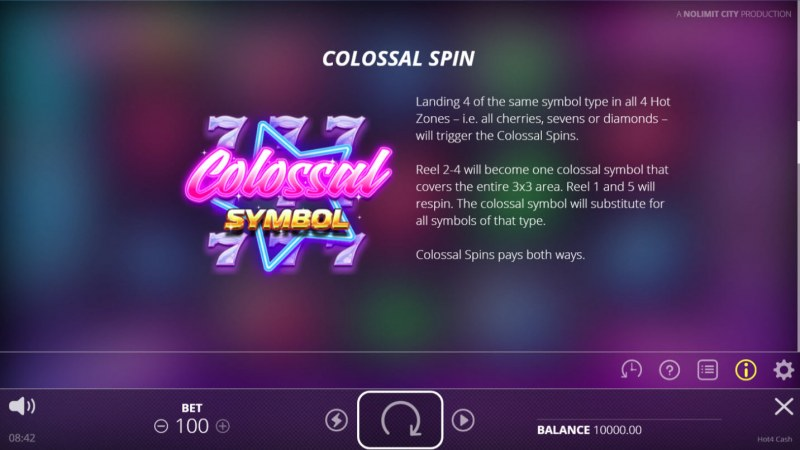 Hot 4 Cash :: Colossal Spin