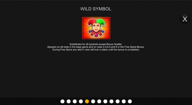 Hot Bonus Joker :: Wild Symbol Rules
