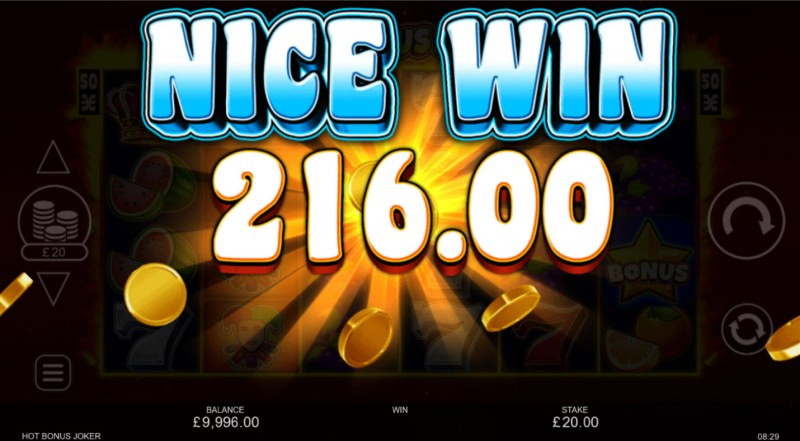 Hot Bonus Joker :: Nice Win