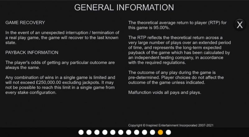 Hot Bonus Joker :: General Game Rules
