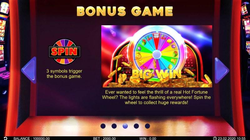 Hot Fortune Wheel :: Bonus Game Rules