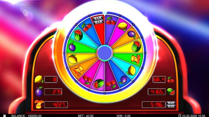Hot Fortune Wheel :: Bonus Wheel Game Board