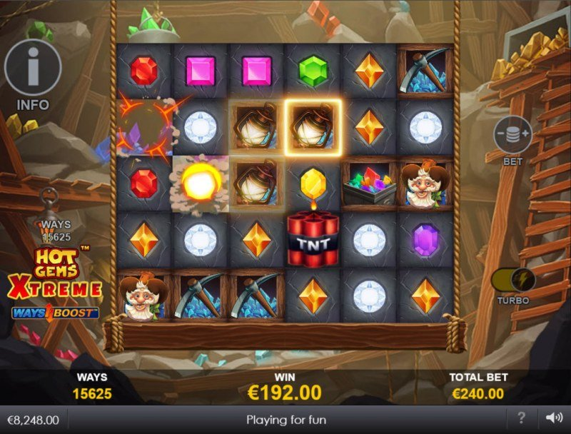 Hot Gems Xtreme :: Expanding reels with each consecutive win