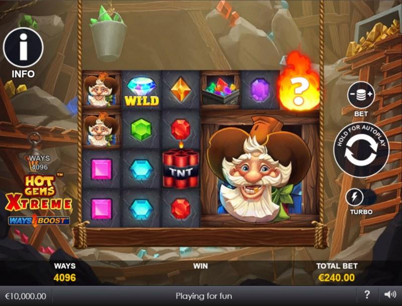 Hot Gems Xtreme :: Main Game Board