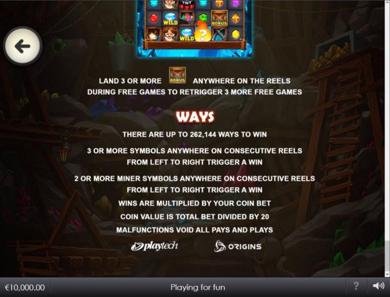 Hot Gems Xtreme :: Ways