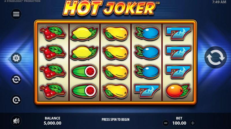 Hot Joker :: Main Game Board