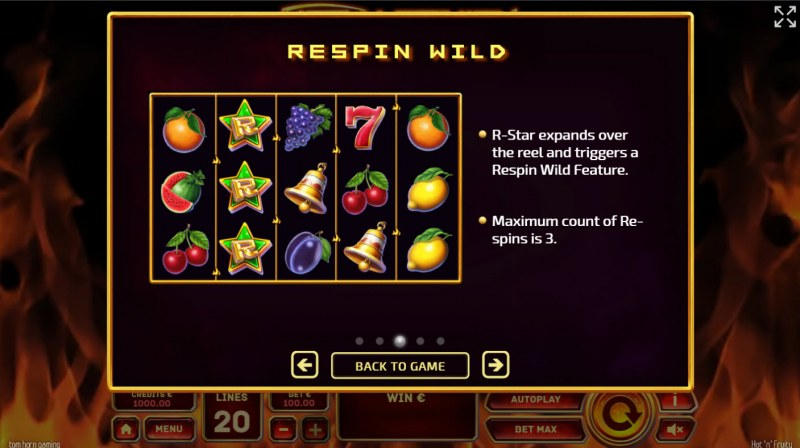Hot 'n' Fruity :: Respin WIld