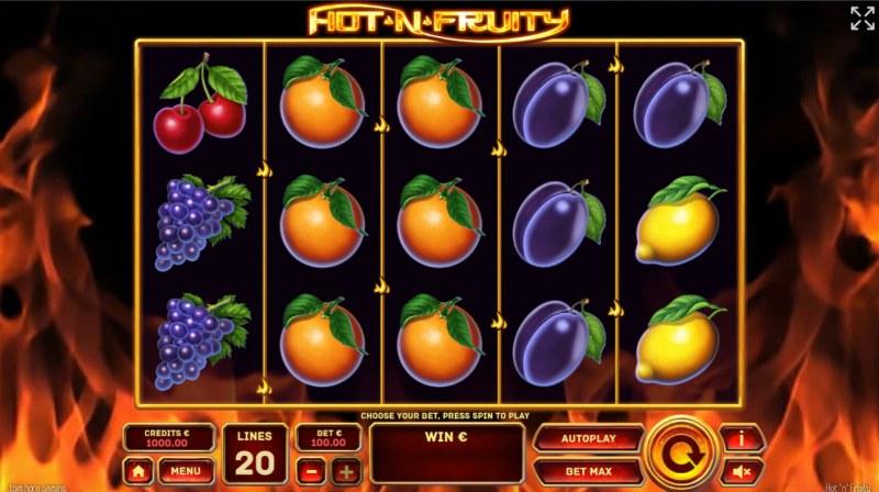 Hot 'n' Fruity :: Base Game Screen