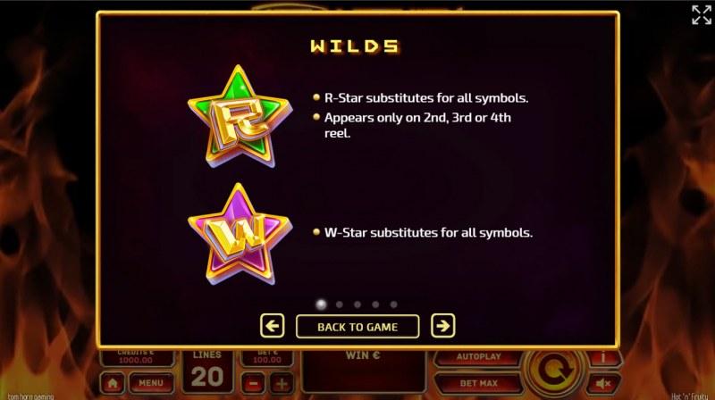 Hot 'n' Fruity :: Wild Symbol Rules