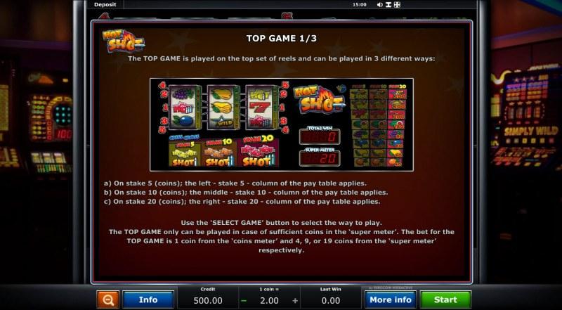 Hot Shot :: Top Game 1/3