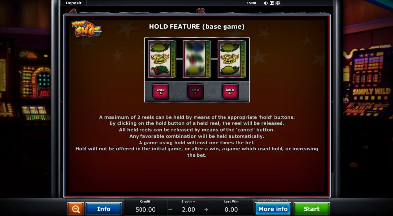 Hot Shot :: Hold Feature