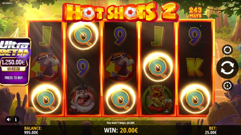 Hot Shots 2 :: Five of a kind