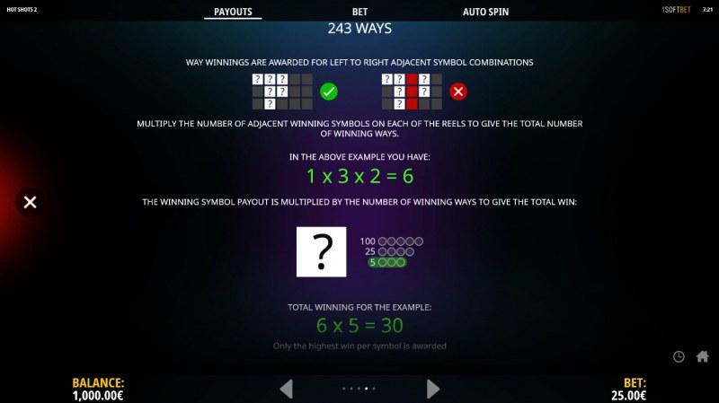 Hot Shots 2 :: 243 Ways to Win