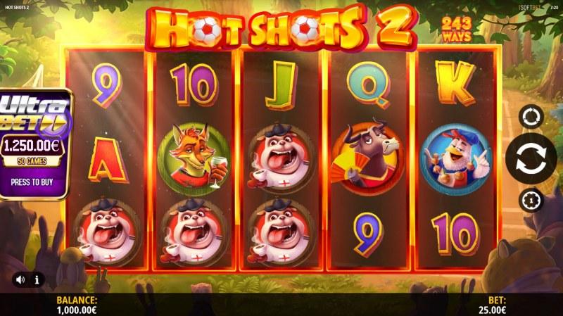 Hot Shots 2 :: Main Game Board