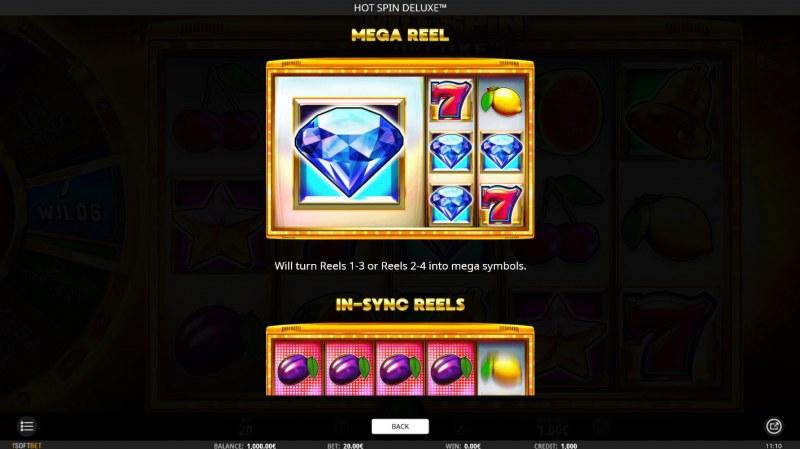 Hot Spin Deluxe :: Mega Reel