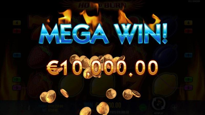 Hot to Burn :: Mega Win