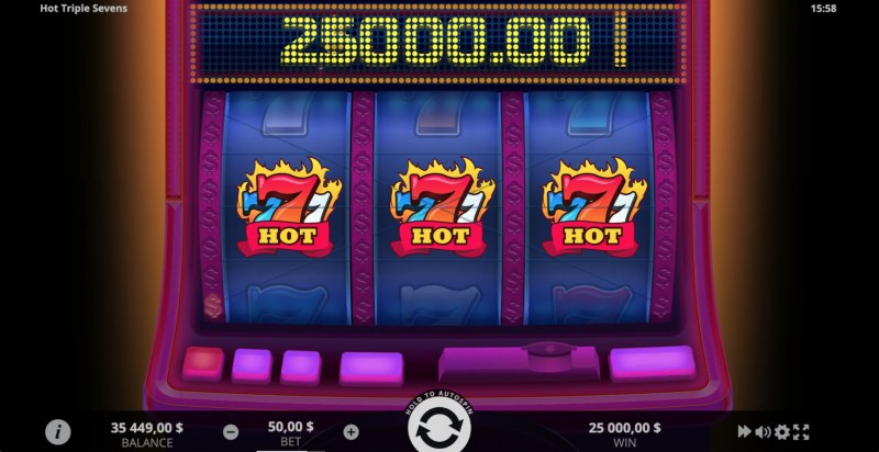 Hot Triple Sevens :: Hot Seven Win