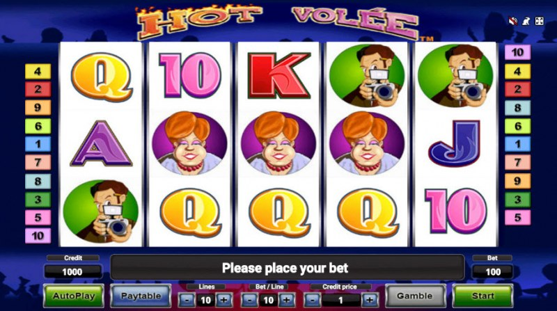 Hot Volee :: Main Game Board