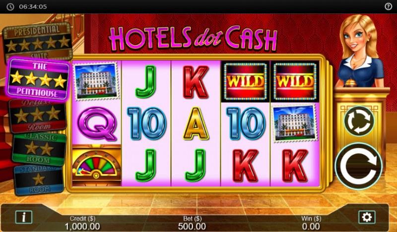 Hotel  dot Cash :: Main Game Board