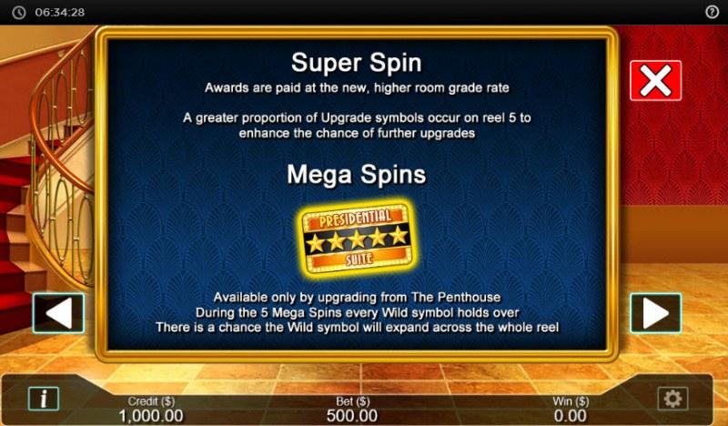 Hotel  dot Cash :: Super Spin